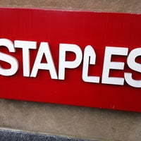 Photo taken at Staples by MS S. on 9/9/2011