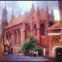 Photo taken at St. Anne's Church by Valentin K. on 8/25/2012