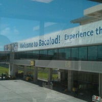 Photo taken at Bacolod-Silay International Airport (BCD) by Beatrice C. on 11/10/2011