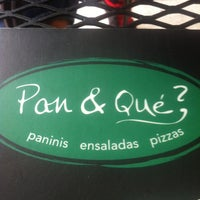 Photo taken at Pan & Qué? by Tim L. on 6/15/2012