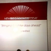 Photo taken at New Beginning Today (NBT) by Stacy V. on 7/30/2012