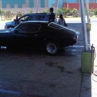 Photo taken at Autolavado La Bandera by Manuel R. on 3/4/2012
