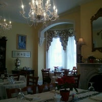 Photo taken at Teaberry's Tea Room by Jaclyn D. on 1/22/2012