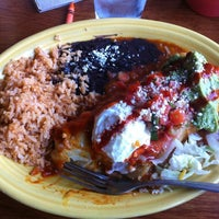 Photo taken at Las Olas Mexican Food by JoVaughn E. on 3/9/2012