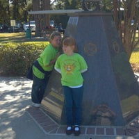Photo taken at Veteran's Park by Rudy E. on 10/20/2011