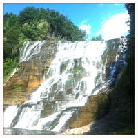 Photo taken at Ithaca Falls by Ryan P. on 8/1/2011
