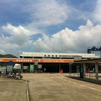 Photo taken at Mui Wo Ferry Pier 梅窩渡輪碼頭 by Marina H. on 9/6/2012