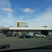Photo taken at Glen Toyota by Brian C. on 12/10/2011