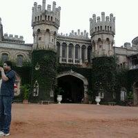 Photo taken at Bangalore Palace by Satyajit P. on 9/8/2012