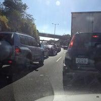 Photo taken at Peaje Brasil de Santa Ana by Charlie S. on 3/19/2012