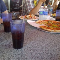 Photo taken at Albie's Pizza by Veronica G. on 4/21/2012