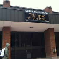 Photo taken at Grafton Stoval Theater by Brendan V. on 4/23/2012