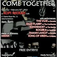 Photo taken at Kopi Merah by Irfandika P. on 2/25/2012
