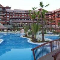 Photo taken at Puerto Antilla Grand Hotel by Mario V. on 6/23/2012