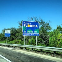 Photo taken at Florida / Georgia State Line by Jose S. on 6/18/2012