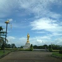 Photo taken at พระยืน by Napat on 7/1/2012