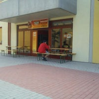 Photo taken at Pizza Delicato by Ondra Š. on 6/27/2012