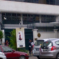 Photo taken at Kedutaan Besar Spanyol (Embassy of the Kingdom of Spain) by Hervan E. on 3/16/2012