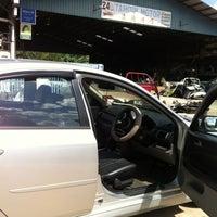 Photo taken at Tampin Motor by Mizah M. on 6/8/2012