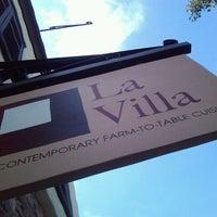 Photo taken at La Villa by Henry J. on 5/30/2012