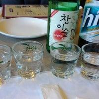 Photo taken at Soot Bul Jip Korean BBQ by John K. on 3/2/2012