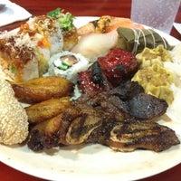 Photo taken at Osaka Seafood Buffet by Bryan C. on 9/1/2012