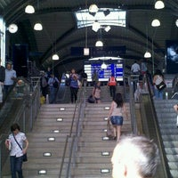 Photo taken at Mainz Hauptbahnhof by Christopher S. on 5/30/2012