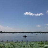 Photo taken at 昆明湖 Kunming Lake by Svetlana J. on 6/10/2012