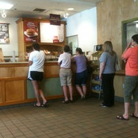 Photo taken at Bruegger's Bagels by George B. on 5/28/2012