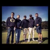 Photo taken at Agate Beach Golf Course by Erik W. on 5/30/2012