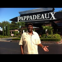 Photo taken at Pappadeaux Seafood Kitchen by Candice P. on 9/9/2012