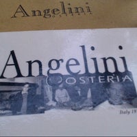 Photo taken at Angelini Osteria by Sativa V. on 7/11/2012