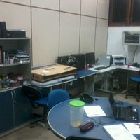 Photo taken at LAWS - Laboratory of Advanced Web Systems by Sasha Nícolas on 4/12/2012