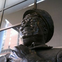 Photo taken at Ralph Kramden Statue by Rob on 5/31/2012
