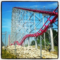 Photo taken at Worlds of Fun by Cyriel V. on 7/15/2012