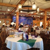 Photo taken at Woodloch Dining Room by Chris D. on 7/12/2012