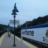 Photo taken at Metro North - Hawthorne Train Station by 0zzzy on 10/11/2011