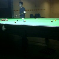 Photo taken at Ixora pool and snooker by amierra a. on 10/27/2011