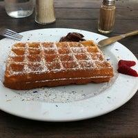 Photo taken at Cafe der Provinz by Benjamin P. on 4/28/2011