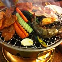 Photo taken at Sukishi Buffet by wanjana t. on 3/30/2011