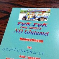 Photo taken at Thai-Imbiss Tuk-Tuk by Xuan X. on 11/28/2011