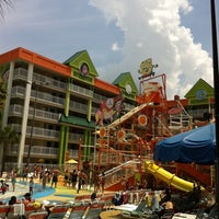 Photo taken at Nickelodeon Suites Resort by Phoebe O. on 8/5/2011