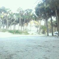 Photo taken at Hunting Island Beach by Adam B. on 7/21/2011