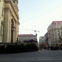 Photo taken at Szent István tér by Péter B. on 10/13/2011