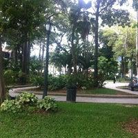 Photo taken at Plaza Bolívar de Naguanagua by Kevin M. on 12/6/2011