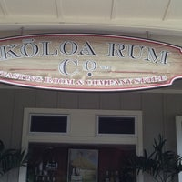 Photo taken at Kōloa Rum Company by Traci P. on 8/18/2011