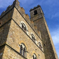 Photo taken at Castello di Poppi by Clarissa on 8/12/2011