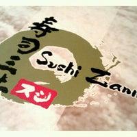 Photo taken at Sushi Zanmai by Dex T. on 10/6/2011