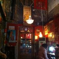 Photo taken at Qianmen Hostel by Jay Y. on 2/21/2012