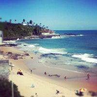Photo taken at Praia do Buracão by Fabio T. on 1/31/2012